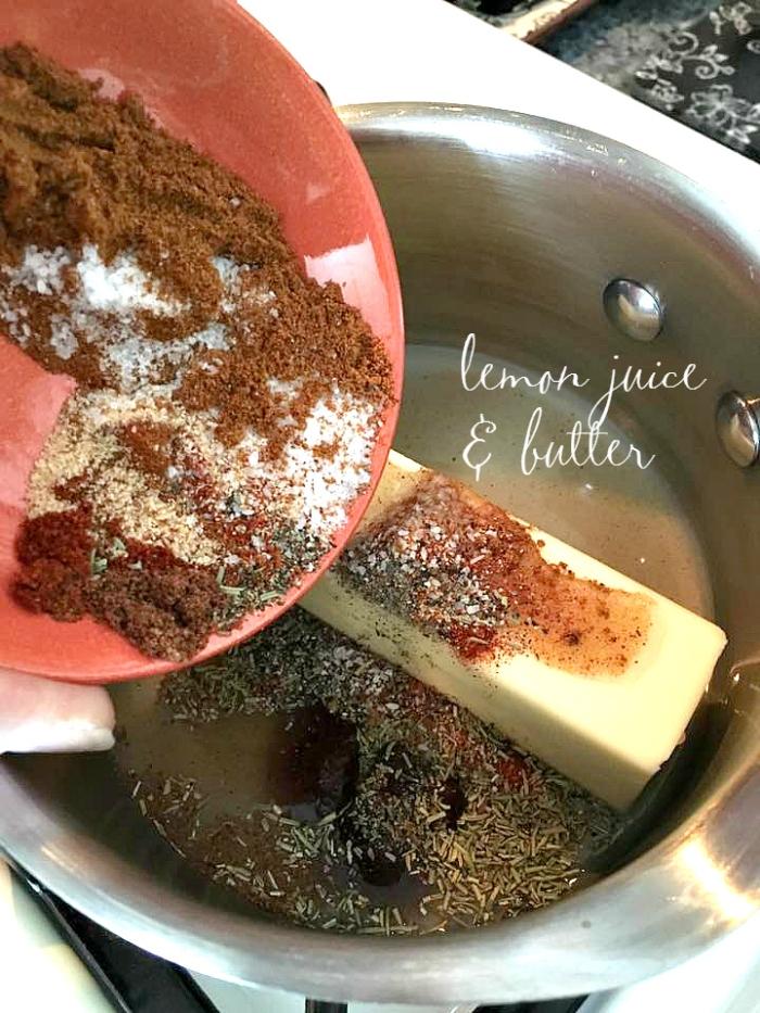 Super Yummy Butter Lemon Paprika Sauce | Blue Eyed Soul Food