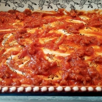 LAZY LASAGNA {AKA: SOUR CREAM NOODLE BAKE}