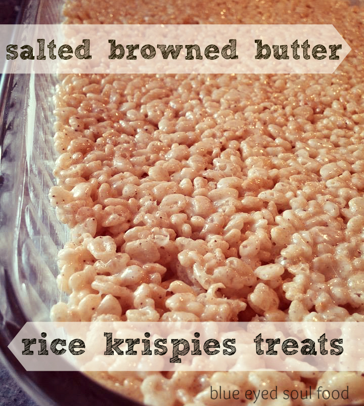 ... little salty. These are not your average rice krispies treats