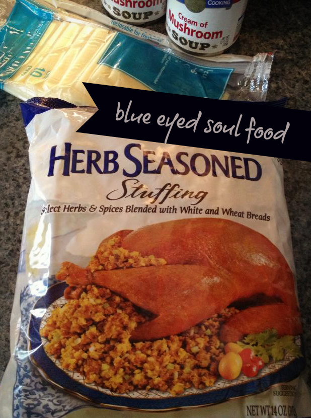 The only stuffing you are allowed to use in this particular recipe! Trust me!
