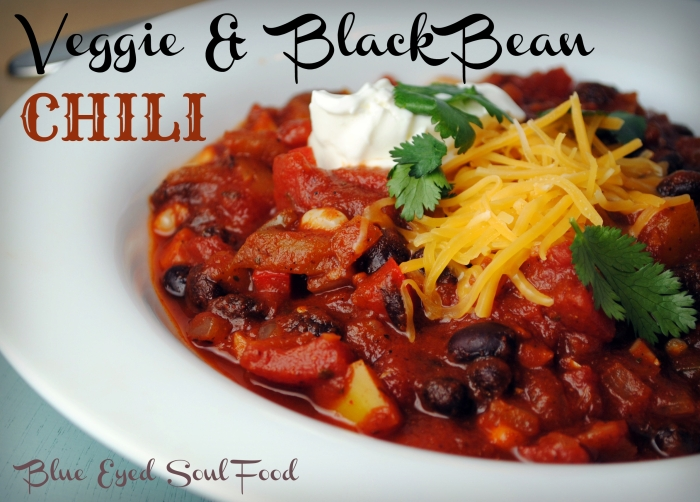 Veggie & Black Bean Chili