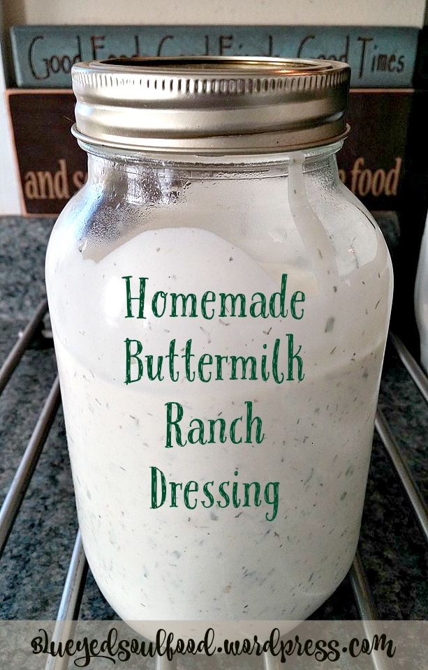 how to make buttermilk ranch dressing