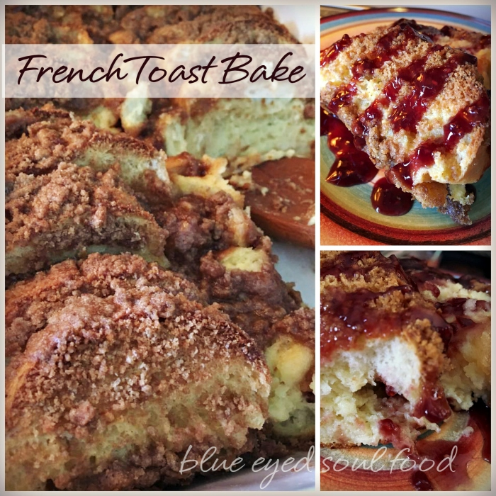 Over Night French Toast Bake - Fluffy & Moist Inside. Crunchy & Chewy Outside