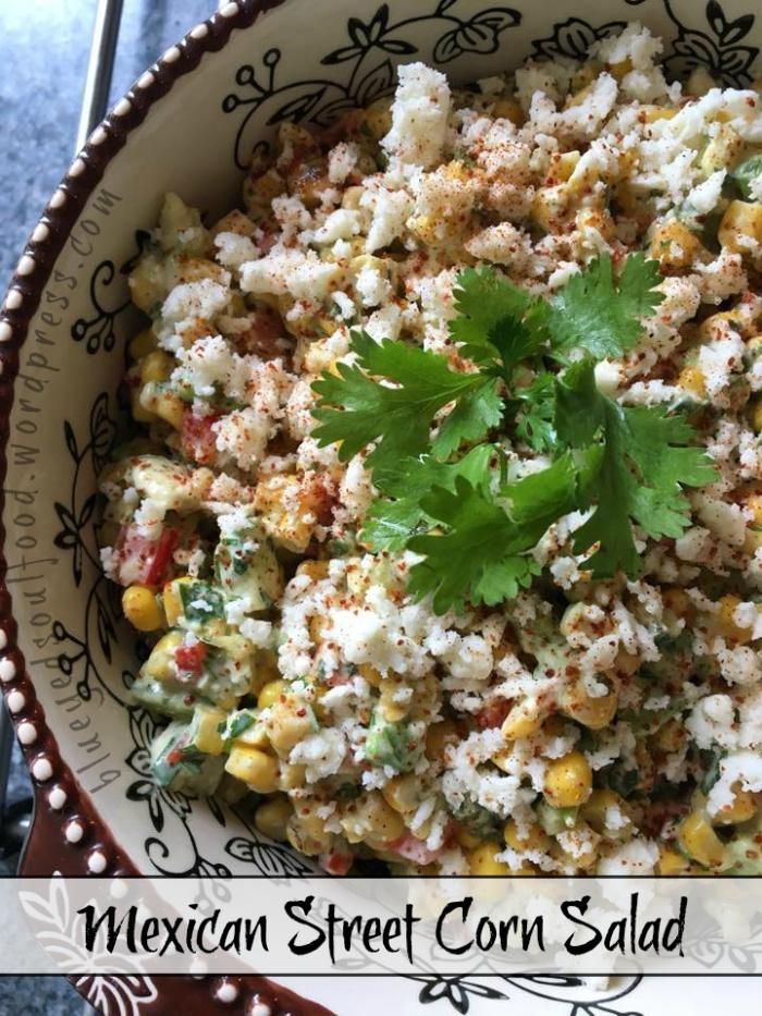 Mexican Street Corn Salad - Elotes